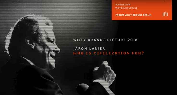 Willy Brandt Lecture 2018